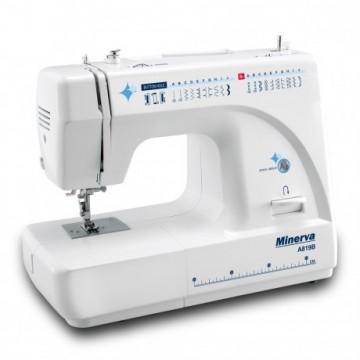 poza Masina de cusut electromecanica Minerva A819B, 21 programe, 800 imp/min, 85W, Alb