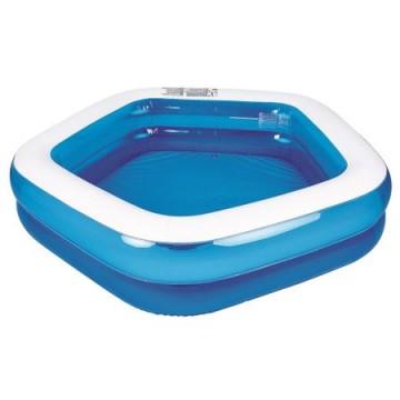 poza Piscina gonflabila pentru copii si adulti Giant Pentagon Pool, Varsta recomandata:  + 6 ani, Albastra