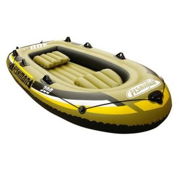 poza Set Barca gonflabila 300 Jilong Fishman, Pescuit/Plimbari, Greutate utilizator: 265 kg, Pompa inclusa, Vasle incluse