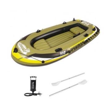 poza Barca gonflabila 350 Jilong Fishman, Greutate utilizator: 340 kg, Pompa inclusa, Vasle incluse