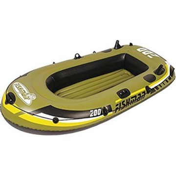 poza Set Barca gonflabila 200 Jilong Fishman, Capacitate: 190 kg, Pompa inclusa, Vasle incluse, Pescuit si plimbari