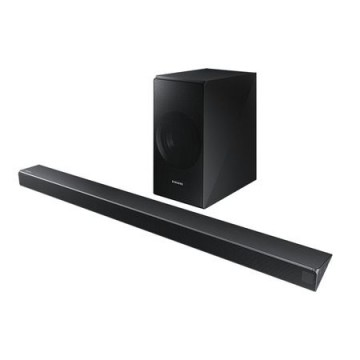 poza Sound bar HW-N550, Puterea RMS: 340 W, Tip sistem: 3.1, Tip Subwoofer Wireless,  Decodare sunet: Dolby Digital 5.1/DTS 2, Formate decodificate: FLAC/AAC/MP3/WAV/OGG, Conectare: USB/Bluetooth/HDMI 1/ IN Audio 1/IN optic 1, Compatibil cu SWA-8500S, BT App