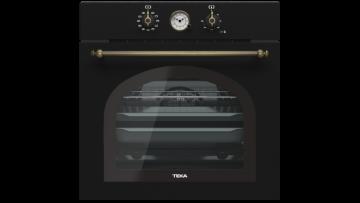 poza Cuptor Incorporabil Teka HR 6300 Anthracite, electric, clasa A+, rustic negru