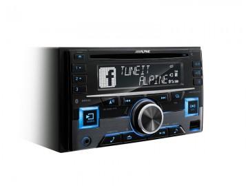 poza ALPINE CDE-W296BT 2DIN RADIO CD/USB/BLUETOOTH, MULTICOLOR