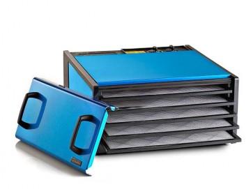 poza Excalibur deshidrator cu 5 tavi si timer complet din inox Radiant Blueberry
