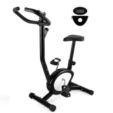 poza Bicicleta fitness pentru exercitii, mecanica, TECHFIT BB 370, Rotatie pedale in dublu sens