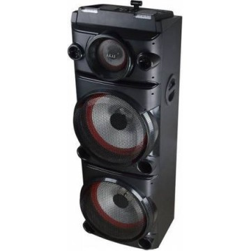 poza Sistem audio Akai DJ-8215, Bluetooth, DJ Effect, party light, karaoke, negru