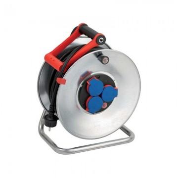 poza Derulator cu tambur metalic Brennenstuhl H07RNF 3G1.5, 40 m 1198340