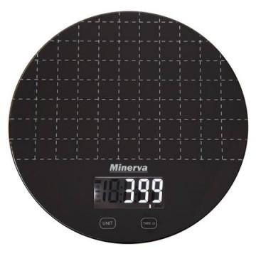 poza Cantar de bucatarie Minerva Experience Eclipse K45, 5 kg, Negru