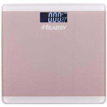 poza Cantar electronic de persoane Heabsy Start B28 Rose, 180 kg, Roz