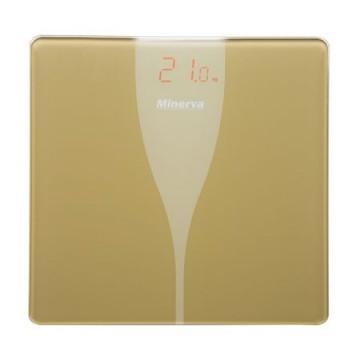 poza Cantar electronic de persoane Minerva Experience Ultra Gold B31E, 180 kg, Auriu