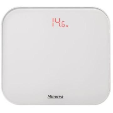 poza Cantar electronic de persoane Minerva Experience Ultra White B20E, 180 kg, Alb