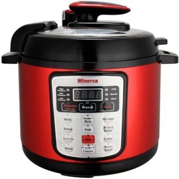 poza Multicooker Minerva Experience D511, 900 W, 5 l, Rosu