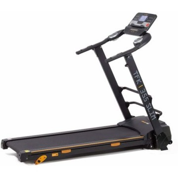 poza Banda de alergare EVERFIT TFK 355 SLIM, Putere maxima 2.75 CP, Greutate utilizator 100 kg, 12 programe de antrenament presetate