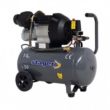 poza Compresor Stager HM3050V, 50L, 356l/min