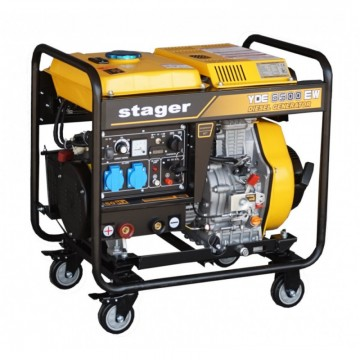 poza Stager YDE6500EW - Generator sudare diesel
