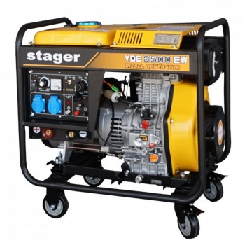 poza Stager YDE8500EW - Generator sudare diesel