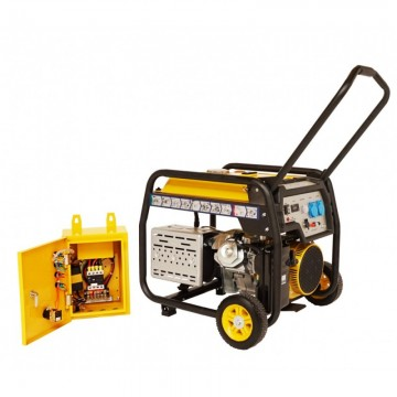 poza Generator open frame Stager FD 6500E+ATS
