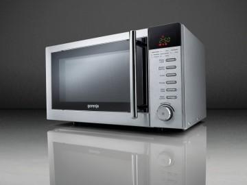 poza Cuptor cu microunde Gorenje MO 17 DE, 700 W, 17 l, Display, Argintiu