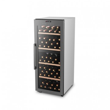 poza Racitor de vin, 110 sticle, compresor, 2 zone, Climadiff CLS110MT
