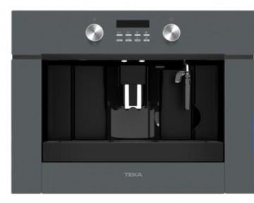 poza Espressor incorporabil Teka CLC 855 GM ST pompa 15 bari, functie de auto-curatare; rasnita cafea cu 13 trepte, program automat de decalcifiere, Cristal Stone Grey/Infinity Glass