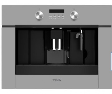 poza Espressor incorporabil Teka CLC 855 GM SM pompa 15 bari, functie de auto-curatare; rasnita cafea cu 13 trepte, program automat de decalcifiere, Cristal Steam Grey/Infinity Glass