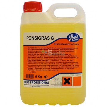poza Degresant general concentrat PONSPRO FORAGRAS-G