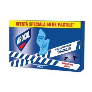 poza Insecticid Aroxol Pastile Impotriva Tantarilor Promo 60bucati 5946004013057