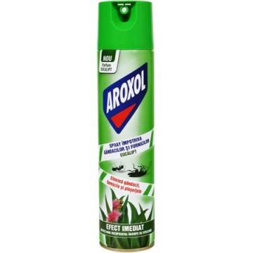 poza Insecticid Aroxol Spray Gandaci Furnici 400ml Eucalipt 5946004013965