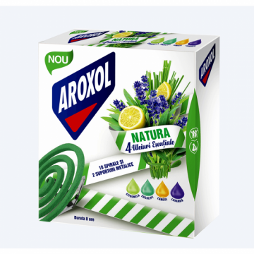 poza Insecticid Aroxol Natura Spirale 5946004013927