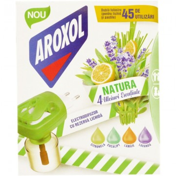 poza Insecticid Aroxol Natura Aparat Cu Rezerva Lichida 5946004013897