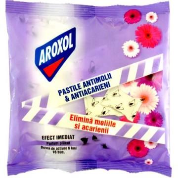 poza Insecticid Aroxol Pastile Antimolii & Antiacarieni 16buc 5946004011411