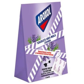 poza Insecticid Aroxol Saculeti Antimolii 4buc 5201137064094