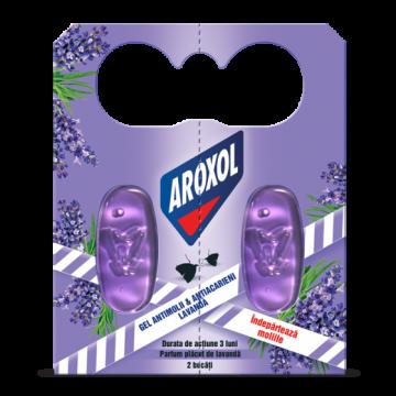 poza Insecticid Aroxol Gel Molii & Acarieni Lavanda 2buc 5946004006158