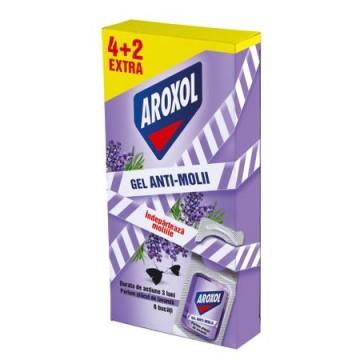poza Insecticid Aroxol Gel Antimolii Lavanda Promo 6buc 5201137064056