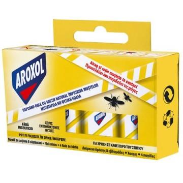 poza Insecticid Aroxol Capcane Muste - Role Cu Adeziv 5946004010063