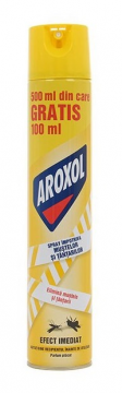 poza Insecticid Aroxol Spray Muste Si Tantari Promo 600ml 5946004013200