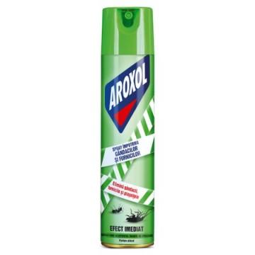 poza Insecticid Aroxol Spray Gandaci Si Furnici 400ml 5201137062076