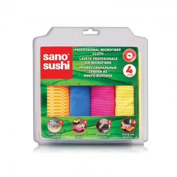 poza Laveta microfibra Sano Sushi Professional 17x23cm 4buc/set