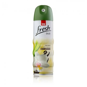 Odorizant Sano Fresh Duo 2in1 Vanilla Lemon 300ml. Poza 1