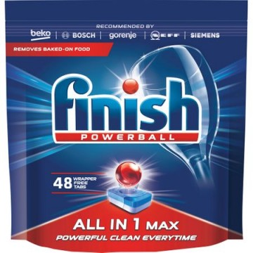 poza Finish All In One Max 48 Tablete