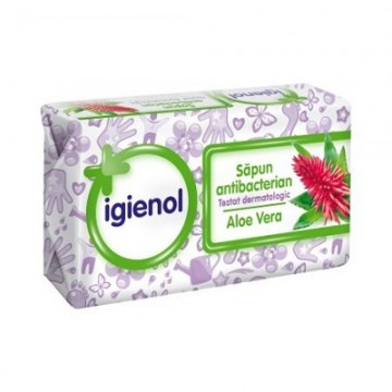 poza Sapun Solid Igienol Aloe 90g 5948543005128