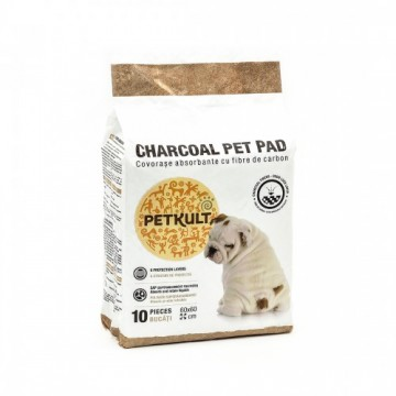 Covorase absorbante pentru caini Petkult Charcoal 60X60 cm. Poza 1