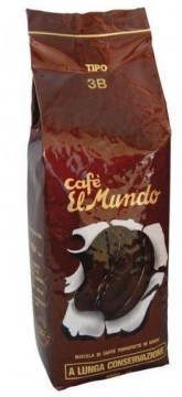 Cafea boabe prajita El Mundo Espresso Tipo 3B 1kg. Poza 2