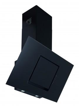 poza Hota decorativa Pyramis ARONDO, sticla neagra, touch control, absorbtie periferica, 90cm Pyramis 065019701