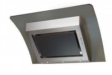 poza Hota Design MAGICO Sticla&Inox -90cm- Pyramis 100543024