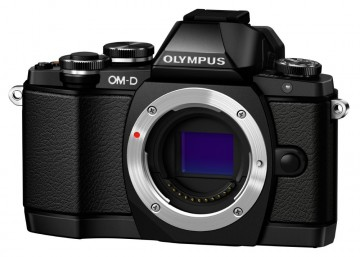 poza Olympus E-M10 body black