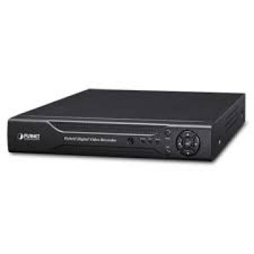 poza Planet 4-Channel Hybrid Digital Video Recorder, Motion Detection, H.264 on Analog and ONVIF IP Camer
