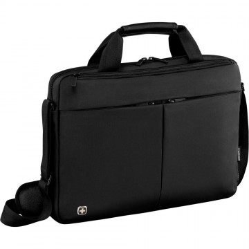 poza Wenger  Format 16 inch Laptop Slimcase with Tablet Pocket, Black
