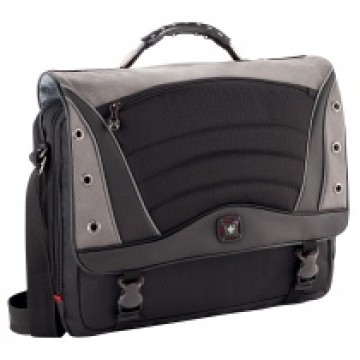 poza WENGER GA-7488 SATURN MESSENG BAG 17 inch  GREY